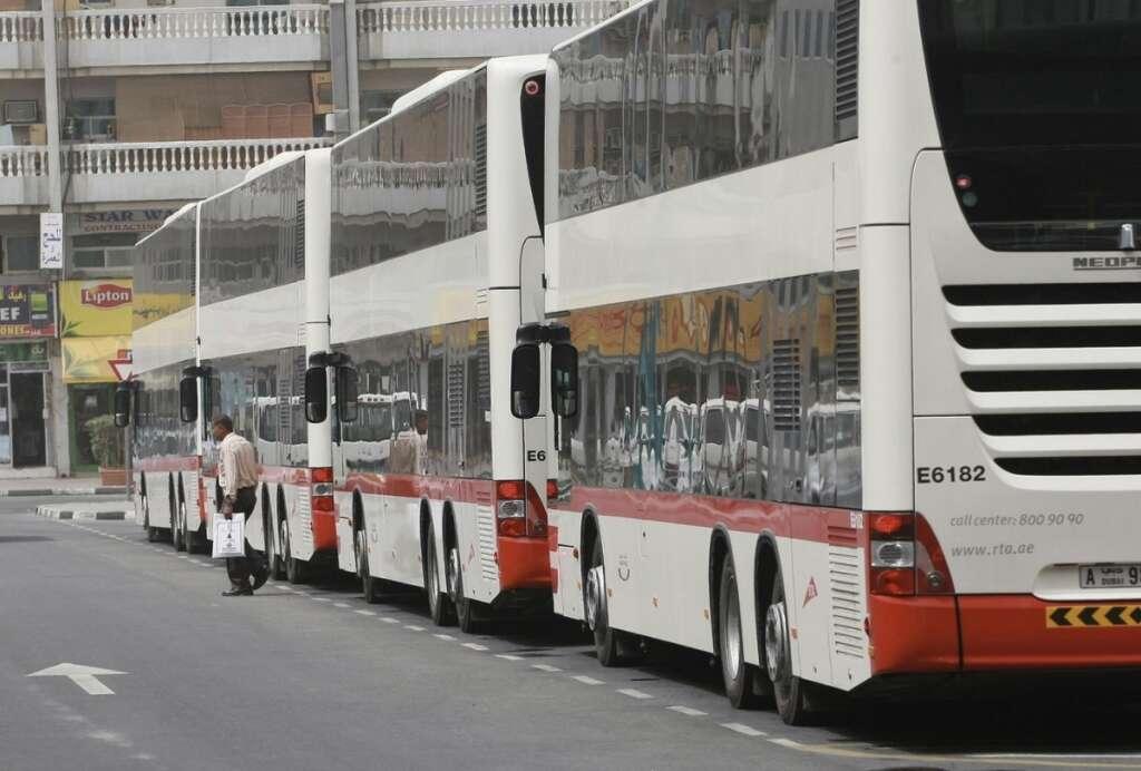 buses, intercity, Dubai, Sharjah, RTA, covid-19, UAE, Abu Dhabi, public transport