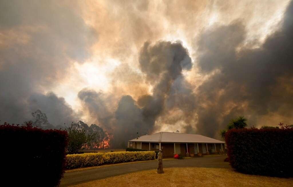 Australian bushfires, Australia, rain