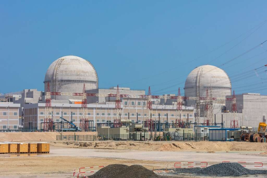 UAEs first nuclear power station 81% complete