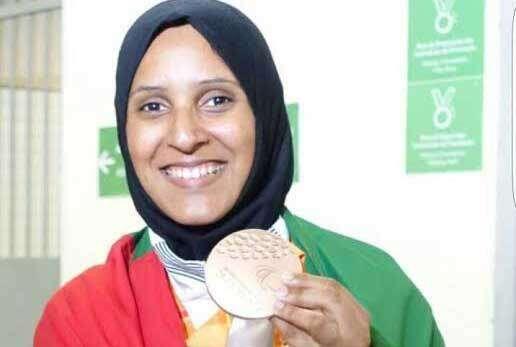 Sara Al Senaani: UAE's first women's Paralympics medallist
