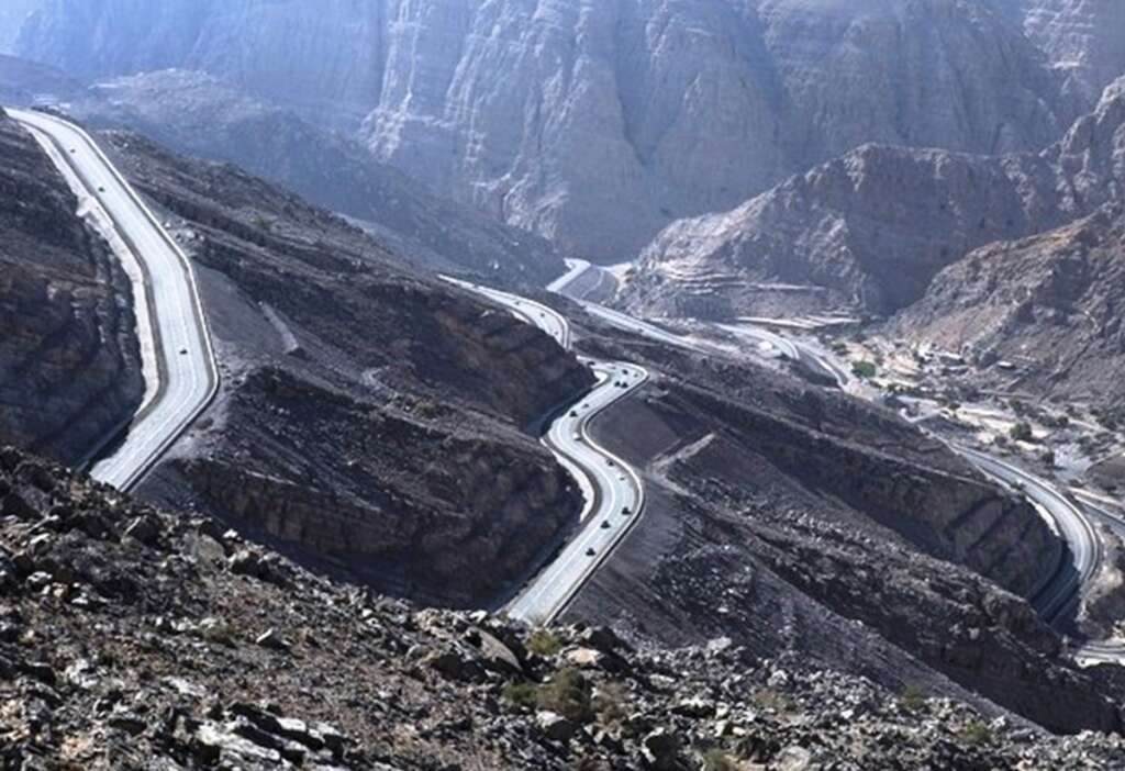 road, Ras Al Khaimah, UAE, infrastructure, Jebel Jais