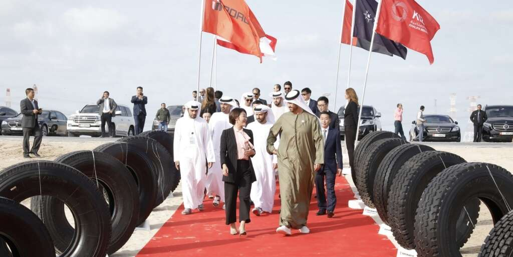 Dh2.2b tyre manufacturing facility starts in Abu Dhabi