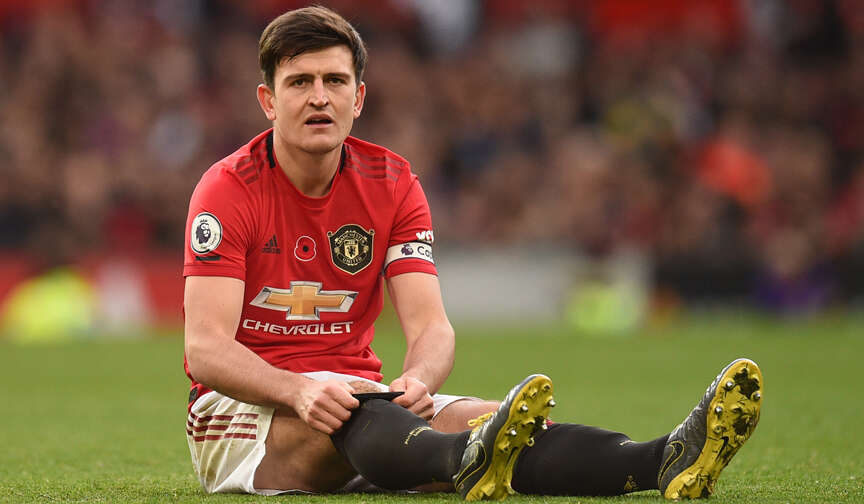 Defender Maguire frustrated over Uniteds lapses