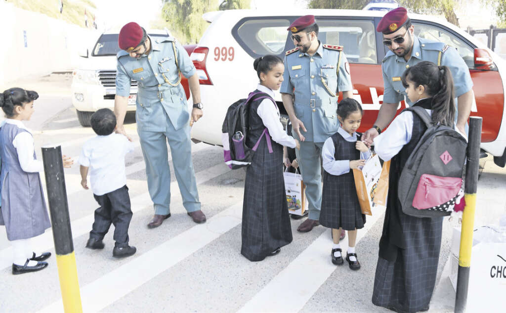 Back to school: 50 patrols to curb congestions during school hours in RAK