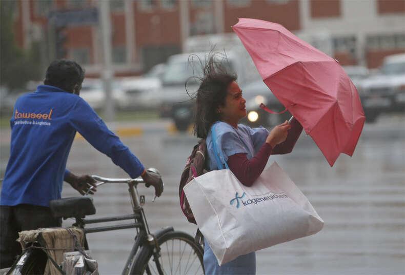 Thunderstorm forecast for Gulf region, more rain expected in UAE
