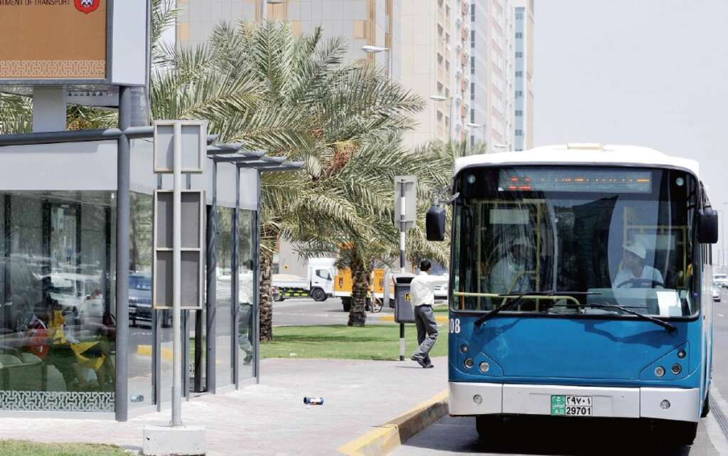 Abu Dhabi residents happy with new changes in bus service