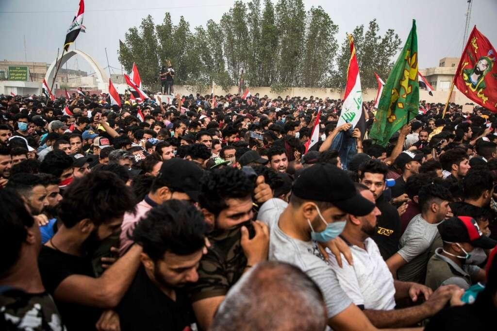 Iraq, protests, gulf