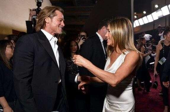 Brad Pitt, reacts, reunion, ex-wife, Jennifer Aniston, 2020 Screen Actors Guild Awards,