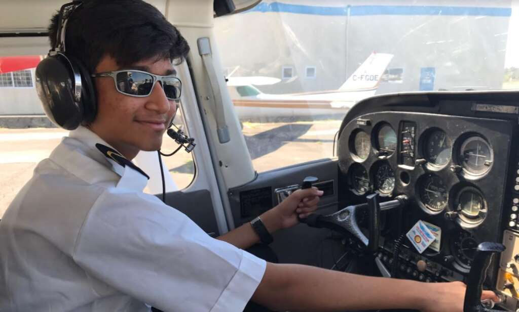 At 14, Sharjah boy flies plane solo, breaks world record