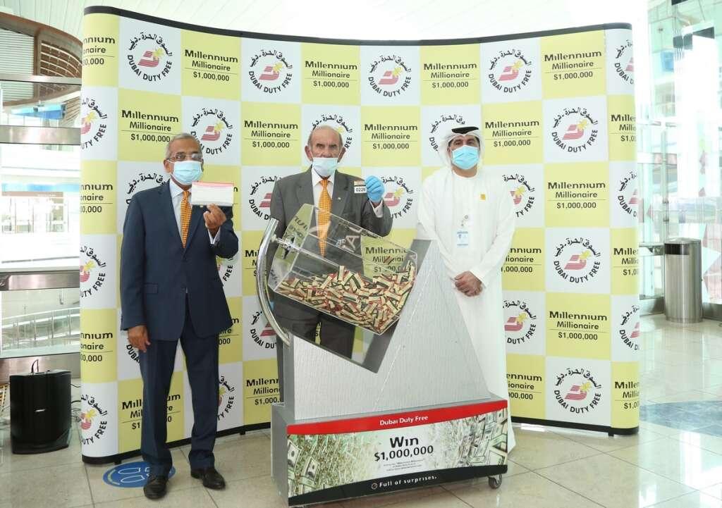 dubai duty free, $1 million, DDF raffle winner