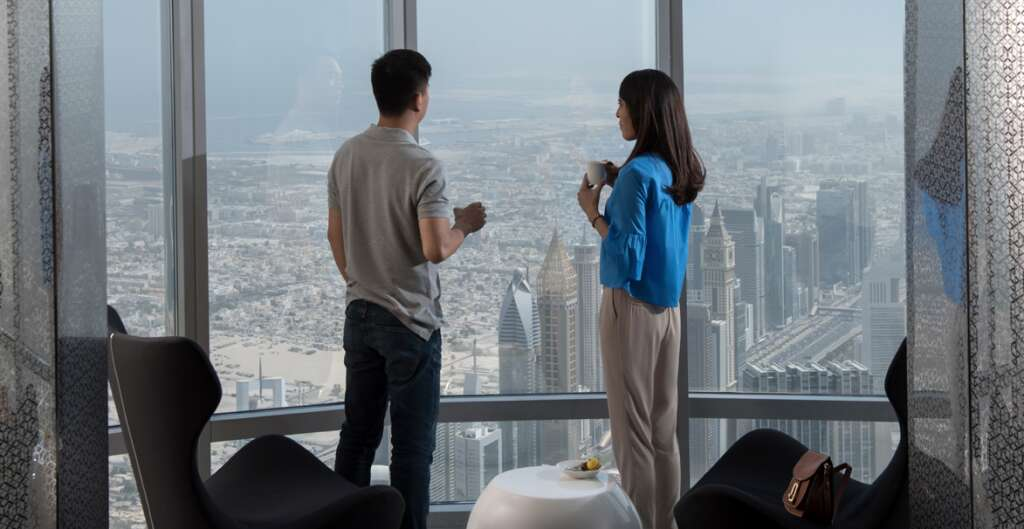 Burj Khalifa, At The Top Sly, The Burj Club, The Rooftop