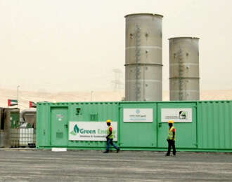 A self-sustaining, carbon-neutral landfill in Dubai that doesn't stink