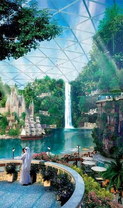 Mega mall key to Dubai's vision