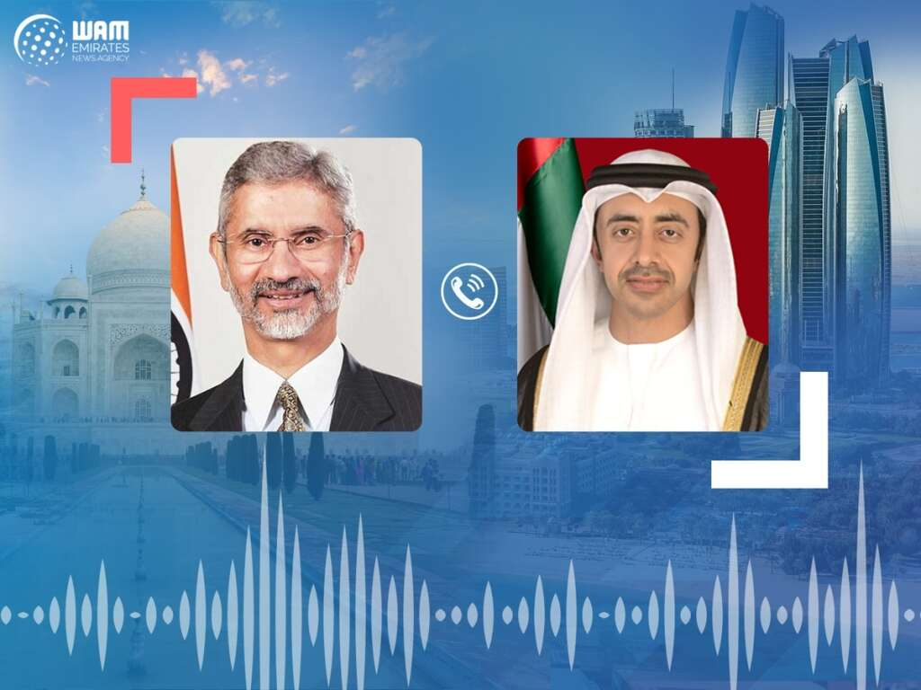 Sheikh Abdullah bin Zayed Al Nahyan, Subrahmanyam Jaishankar, UAE, India, video call, coronavirus, Covid-19, thanks, medical support, teams