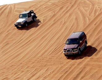 Going on a desert safari to death?