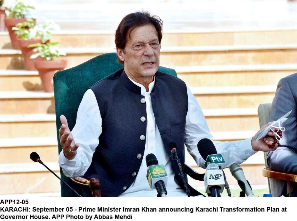 Pakistan, Imran Khan, Karachi