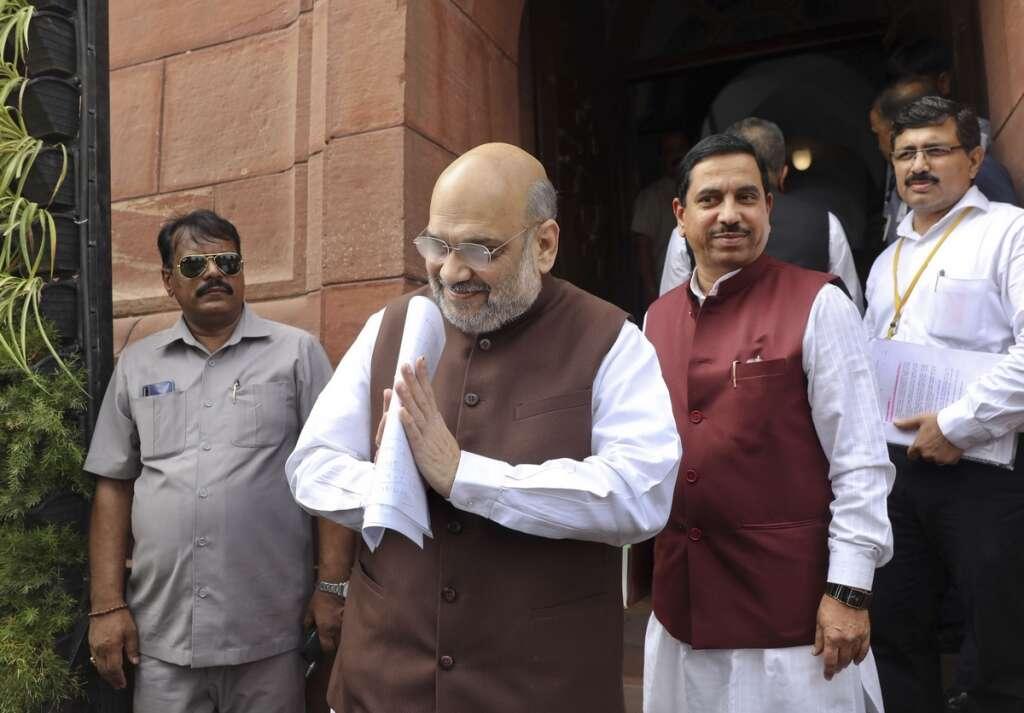 Rajya Sabha, J&K, Home Minister Amit Sha, Article 370 of the Constitution, Kashmir