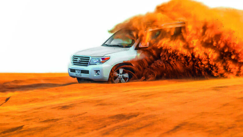 KT for good: Never drive alone in the desert - Khaleej Times