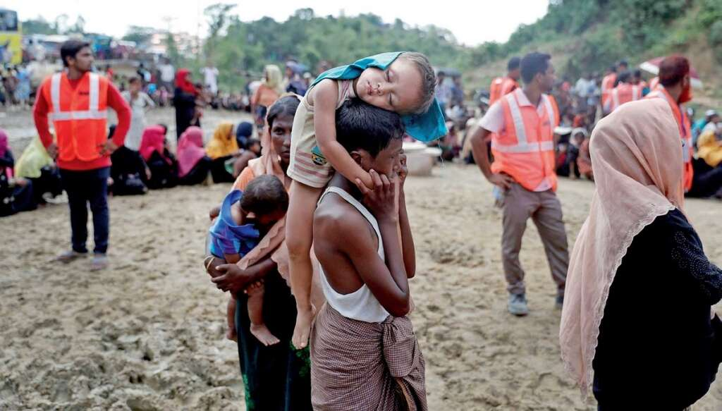 The slaughter of Rohingya and ethnic cleansing has always been the army's policy.