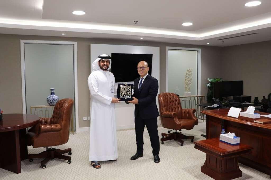 Abu Dhabi Securities Exchange meets with Morgan Stanley