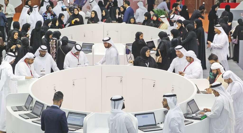 Dubai job fair offers 'right placements' for Emiratis