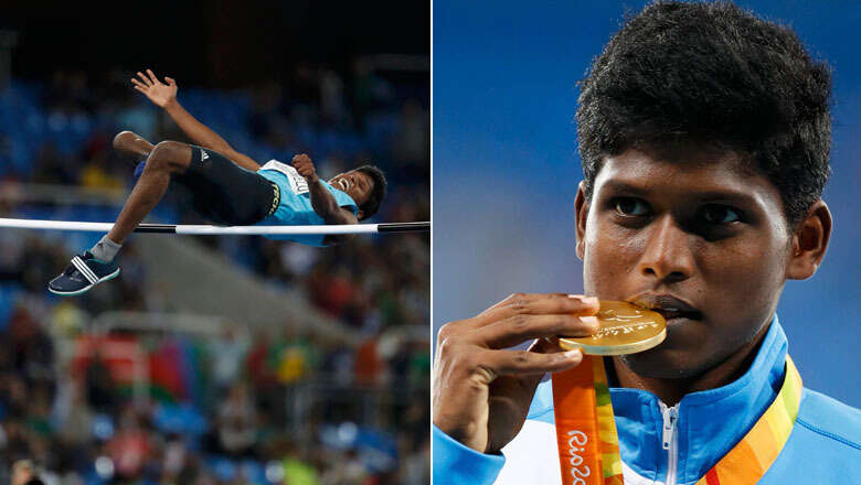 Thangavelu wins Indias first ever Paralympics gold in Rio