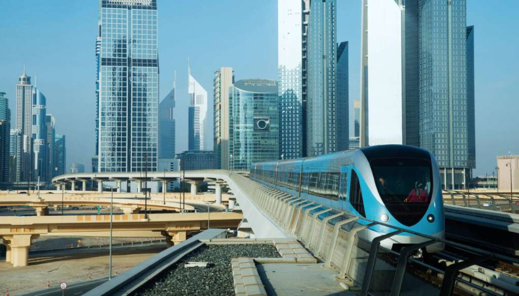 Dubai Metro red line back on track after technical glitch