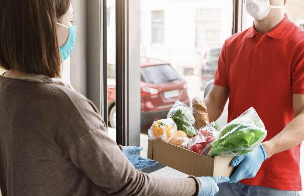 food deliveries, groceries, coronavirus pandemic, Sharjah Municipality, UAE, Covid-19