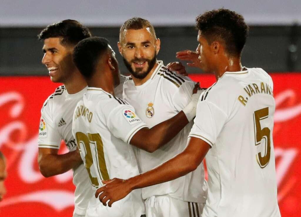 Real Madrid, La Liga, Alaves, Spain, Karim Benzema
