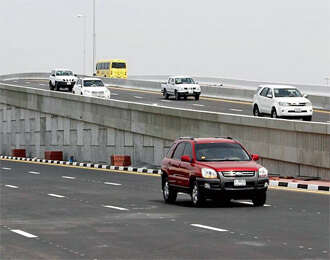 Shaikh Humaid Bridge inaugurated in Ajman