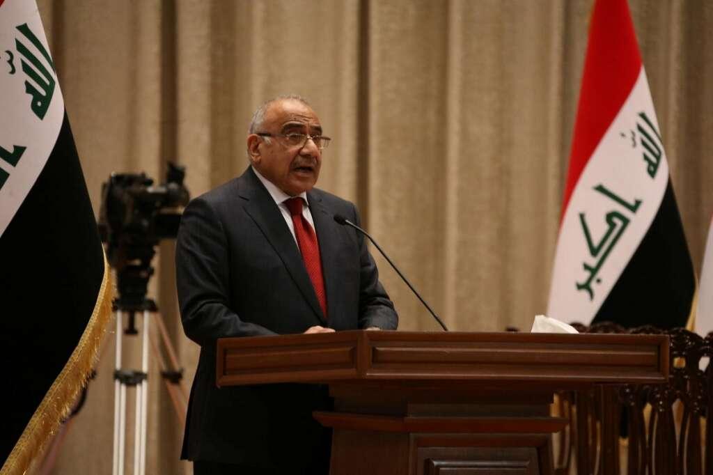 Iraqi PM, Adel Abdul Mahdi, US, Iran, restraint, respect, Iraqi state, Iraqi caretaker Prime Minister