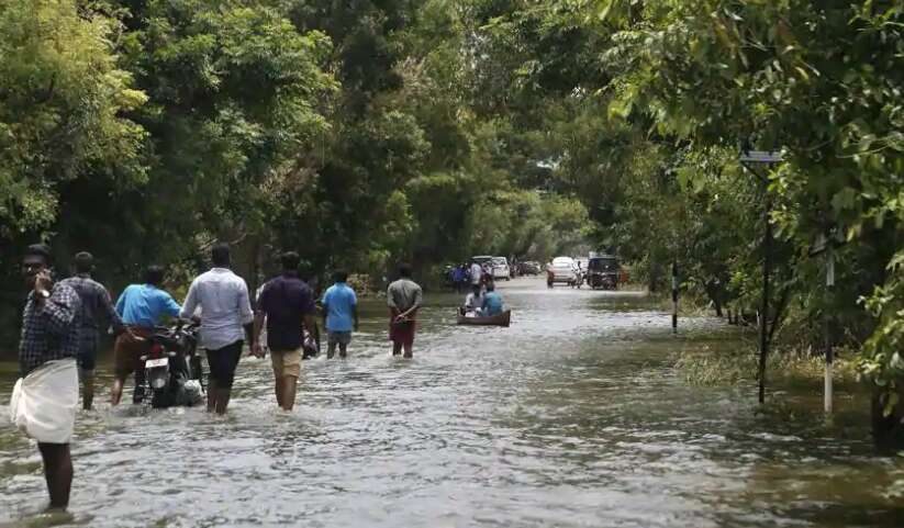 Kerala flood victims live in the company of the dead