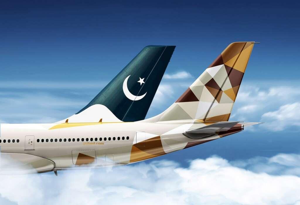 Etihad Airways, Pakistan International Airlines, PIA, codeshare agreement, Lahore, Karachi, Islamabad