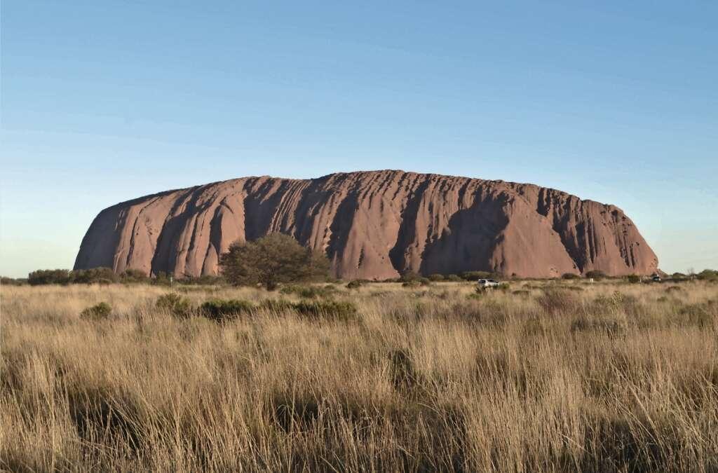 Enigmatic Uluru