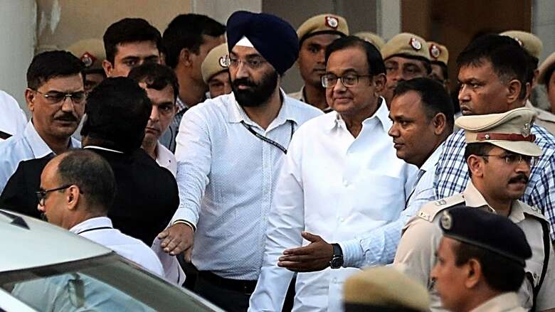 Chidambaram, INX Media money laundering case