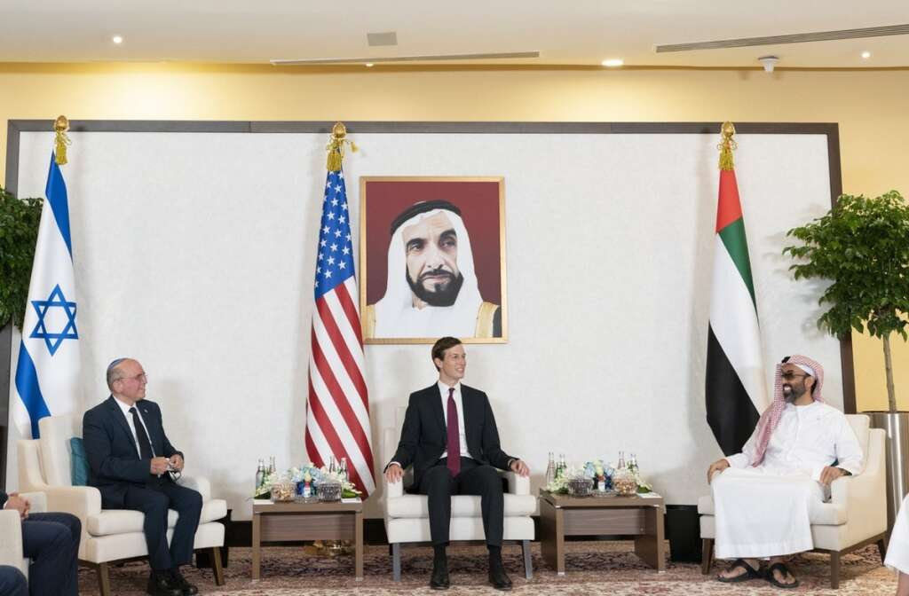 uae, united states, Israel, historic, accord, treaty, courageous, step, middle east