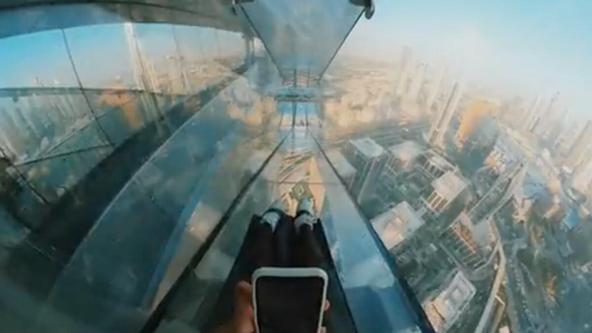 Dubai: Glass skywalk coming up near Burj Khalifa