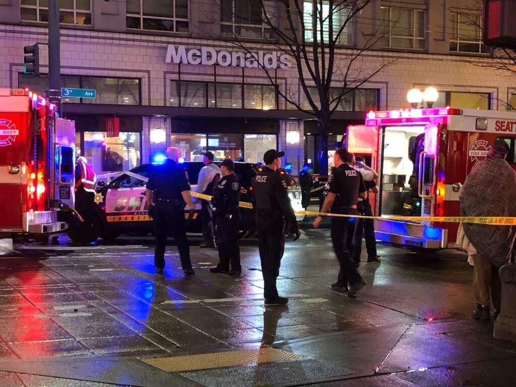 US mass shooting, Seattle