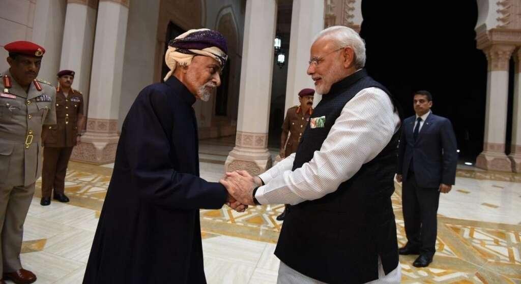 Imran Khan, Narendra Modi, react, Oman, Sultan Qaboos, passes away, condolences,