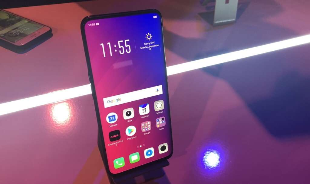 Pop goes the camera: Oppo unveils bezel-less smartphone in UAE