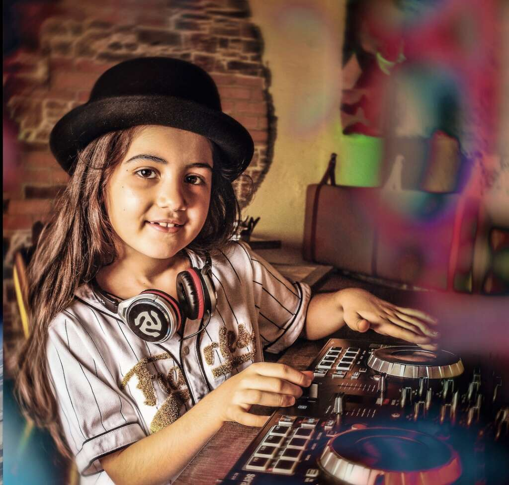 Is she Dubais youngest DJ?