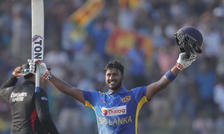 Fernando, Mendis tons help Lanka clinch ODI series with Windies rout
