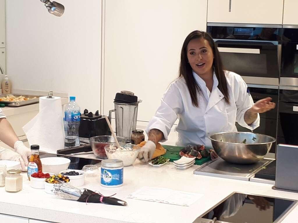 Video: Keeping it Vegan with Dubai-based chef Athena Matheou