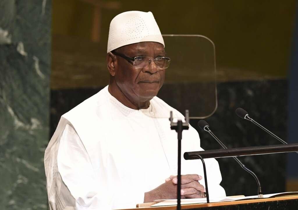 Mali president, ibrahim boubacar keita, resigned, mutinying soldiers, detained, him