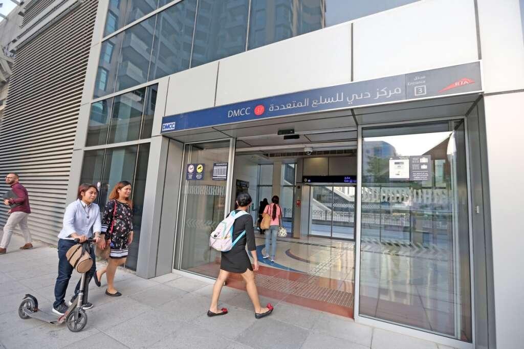 Dubai Metro JLT station to be renamed DMCC