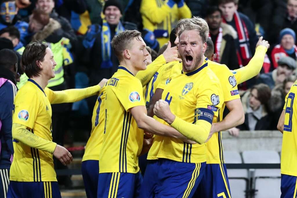 Kamara strikes late as Norway snatch 3-3 draw with Sweden