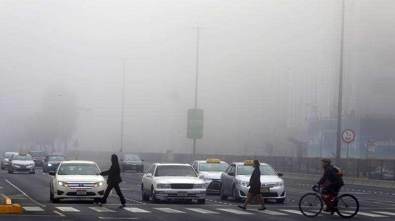Fog, weather, uae weather, temperature