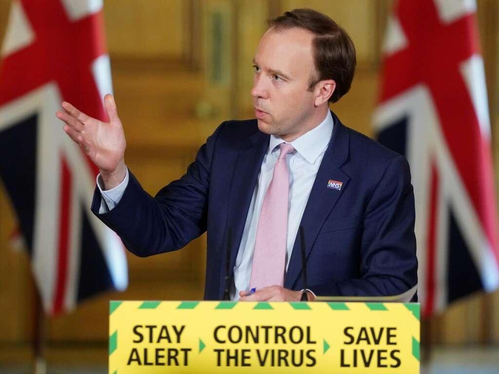 Britain, fines, rescinded, childcare, travel, Matt Hancock, Dominic Cummings, coronavirus