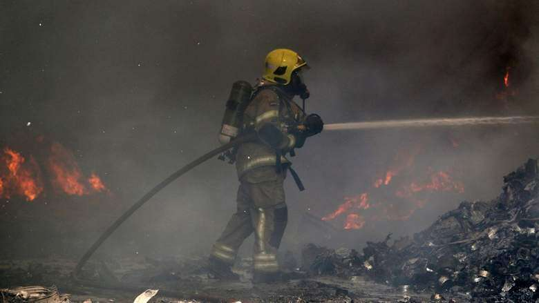 Goods worth millions burnt in Sharjah warehouse fire
