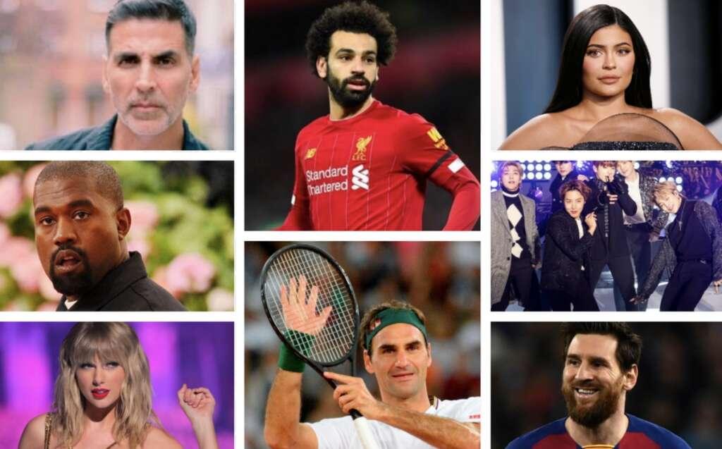 Kylie Jenner, Federer, Akshay Kumar